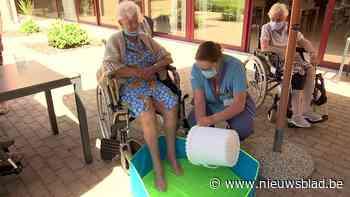 Frisse voetbadjes en milkshakes: rusthuizen bereiden zich voor op hittegolf