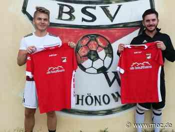 Transfers: Zweites Brüderpaar für Schönow kommt aus Blankenburg - Märkische Onlinezeitung