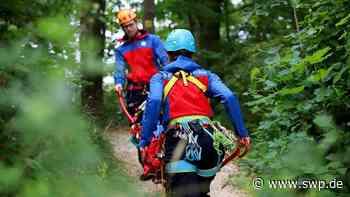 Bergwacht bei Bad Boll: Frau stürzt auf Wanderweg: Bergretter im Einsatz - SWP