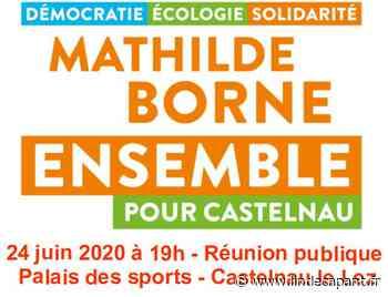 Hérault - Castelnau le Lez - Réunion publique de la liste Ensemble pour Castelnau le 24 juin 2020 à 19h - L'indécapant