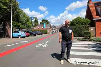 Gemeente maakt werk van uniforme fietsoversteken (Lint) - Gazet van Antwerpen