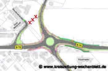 Gutachten bestätigt Überlastung der Knotenpunkte: Planungsrecht für Tostedter Kreisel liegt vor - Kreiszeitung Wochenblatt