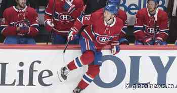 Drouin looking to recapture early-season form - Global News