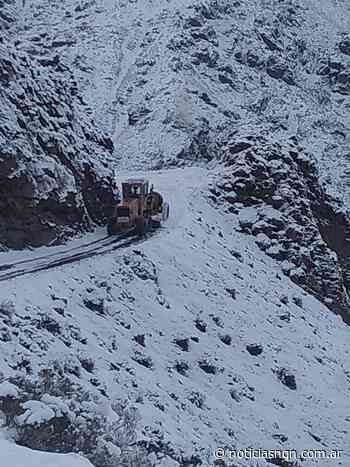 Derrumbe en la ruta provincial 53, paraje el Salitral - Noticias NQN
