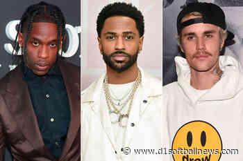 Travis Scott, Big Sean and Justin Bieber come into the studio - D1SoftballNews.com