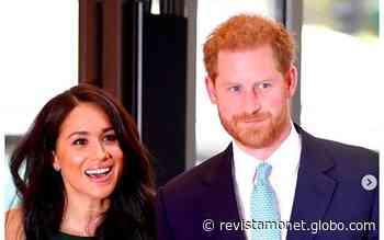 """Harry e Meghan usam símbolo da realeza em carta e fãs questionam: """"não estavam proibidos?"""" - Revista Monet"""