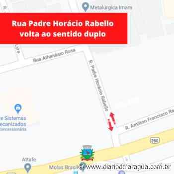 GUARAMIRIM - Trânsito: rua Padre Horácio Rabello volta ao sentido duplo - Diário da Jaraguá