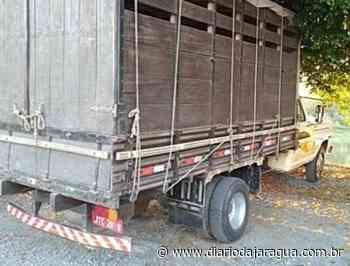 F4000 com registro de furto é encontrado em Guaramirim - Diário da Jaraguá