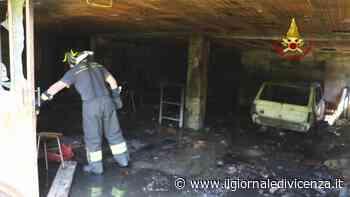 Scoppia rogo in un garage Anziano ferito - Il Giornale di Vicenza