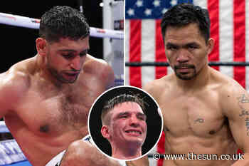 Amir Khan was 'put to sleep' by Manny Pacquiao in sparring and 'all over the place' – ex-training partner reve - The Sun