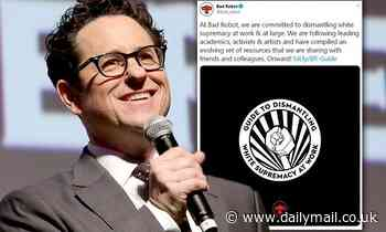 J.J. Abrams' company Bad Robot Productions creates a 20-page Guide to Dismantling White Supremacy - Daily Mail