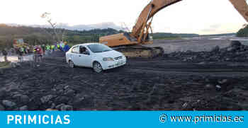 Autoridades habilitan un tramo en la carretera Puyo-Macas - Primicias