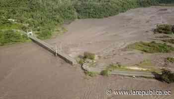Desborde del río Upano provoca colapso de la carretera Macas-Puyo - La República Ecuador