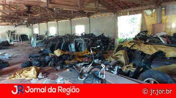 Desmanche de Louveira é um dos maiores estourados pela Polícia - JORNAL DA REGIÃO - JUNDIAÍ