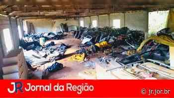 Galpão de Louveira tinha centenas de peças de carros | JORNAL DA REGIÃO - JORNAL DA REGIÃO - JUNDIAÍ