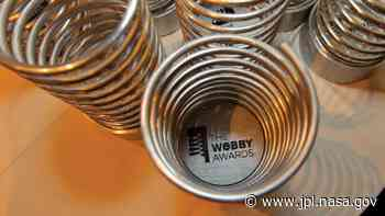 Today Is the Last Day to Vote for NASA's 12 Webby Award Nominations - Jet Propulsion Laboratory