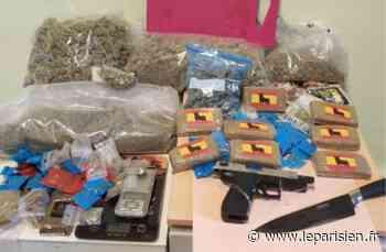 Torcy : trois kilos de drogues et une arme de poing saisis dans un appartement - Le Parisien