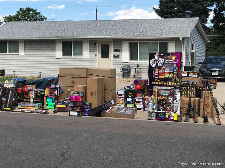 Mounds Of Fireworks, Several Firearms Seized From Denver Home