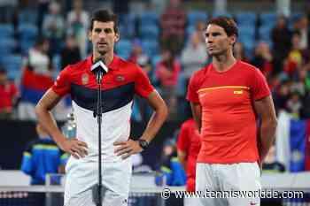 Toni Nadal: 'Rafael Nadal und Novak Djokovic konnten nur einen Major spielen' - Tennis World DE