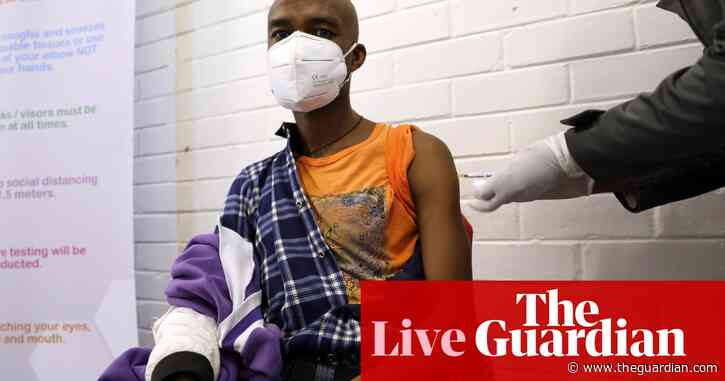 Volunteers in Brazil and South Africa receive first doses of experimental vaccine – as it happened