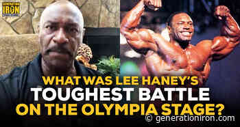 Lee Haney Answers: What Was Haney's Toughest Olympia Battle? - generationiron.com