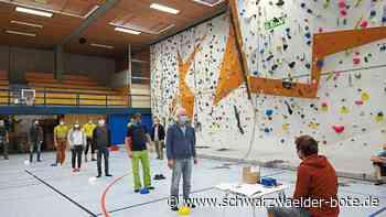Freudenstadt: Corona-Lockerungen: Kletterzentrum öffnet wieder - Freudenstadt - Schwarzwälder Bote