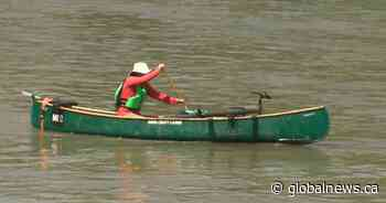 Edmonton doctor canoes to work: 'My commute is the best part of my day'