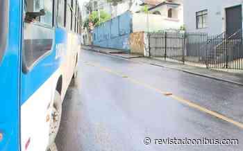 Salvador: Acidente com ônibus chama atenção no bairro do Canela - REVISTA DO ÔNIBUS