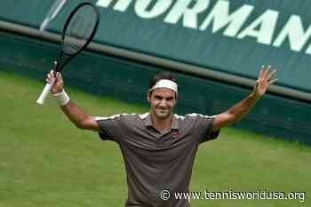 ThrowbackTimes Halle: Roger Federer downs Roberto Bautista Agut to reach semis - Tennis World USA