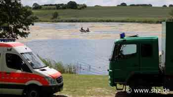 Nehmser See: Hubschrauber sucht nach vermisstem Baris Karabulut aus Bad Bramstedt | shz.de - shz.de