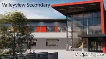 Contract awarded for $34.5 million expansion at Valleyview Secondary - CFJC Today Kamloops