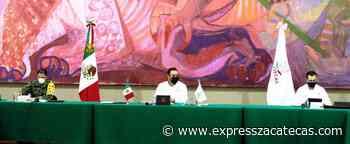 La seguridad, una prioridad para mi gobierno, reitera Tello - Express Zacatecas