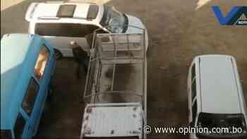 Cae hombre que robó autopartes en Punata - Opinión Bolivia