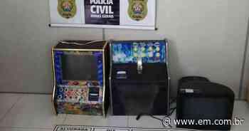 Polícia fecha pontos de jogos de azar em Vespasiano e mais duas cidades - Estado de Minas