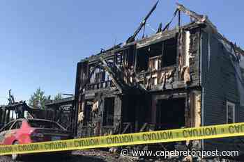 Four displaced by Antigonish fire - Cape Breton Post