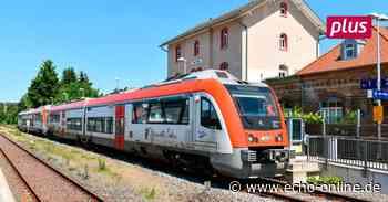 Millionenschub für Odenwaldbahn Darmstadt-Erbach-Eberbach - Echo Online
