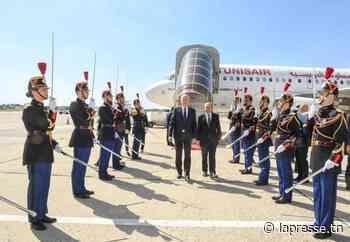 Paris-Le Bourget | Le chef de l'Etat accueilli par le ministre de l'Europe et des Affaires étrangères - La Presse de Tunisie