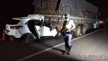 Batida entre carro e caminhão deixa vítima fatal na Rodovia Assis Chateaubriand, em Indiana - G1