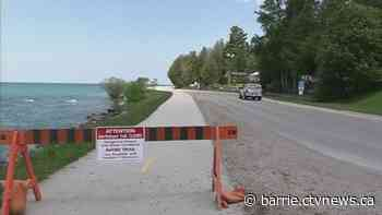 Saugeen Shores rejects idea to turn waterfront road into summer trail - CTV News