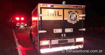 Homem é assassinado com disparo de arma de fogo em Antonina - Folha do Litoral News