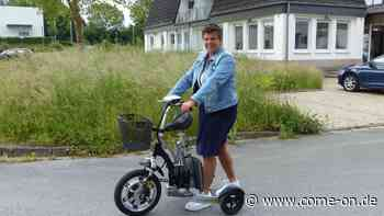 Neuenrade/NRW: Familie aus Küntrop baut Spezial-Rollator und meldet ihn zum Patent an - come-on.de