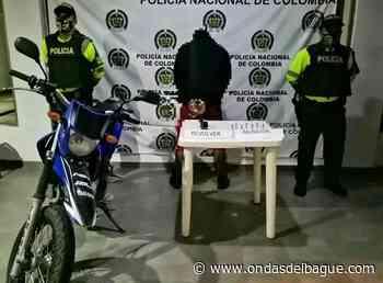 Capturado armado y en moto en el Guamo - Ondas de Ibagué