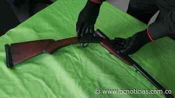 En el Alto de Guamo capturaron a un hombre por portar una escopeta - BC Noticias