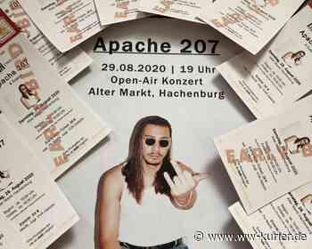 """Abgesagt: Apache 207 in Hachenburg - Rückerstattungen über """"Hachenburger KulturZeit"""" und Eventim - WW-Kurier - Internetzeitung für den Westerwaldkreis"""