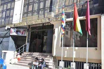 Presidente del TED-Oruro: el proceso electoral se mueve en terreno arenoso - eju.tv
