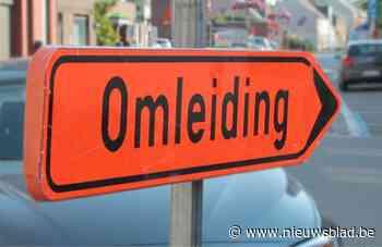 Rijstrook Steenweg in centrum wordt twee dagen afgesloten voor afbraak van woningen