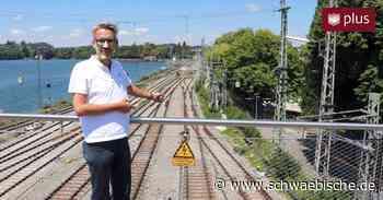 Die Bahn ist beim neuen Bahnknoten Lindau voll im Zeitplan - Schwäbische