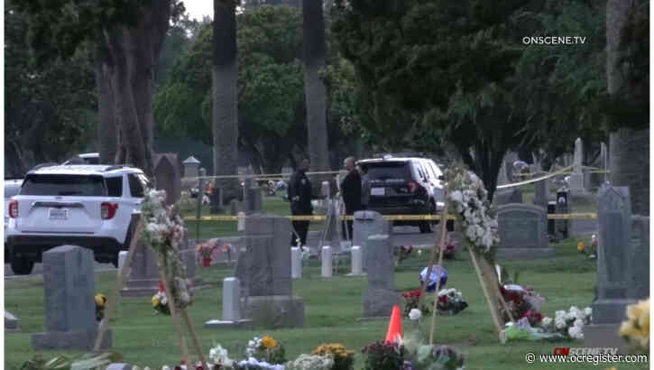 Shooting at Santa Ana cemetery leaves 1 dead, 1 wounded