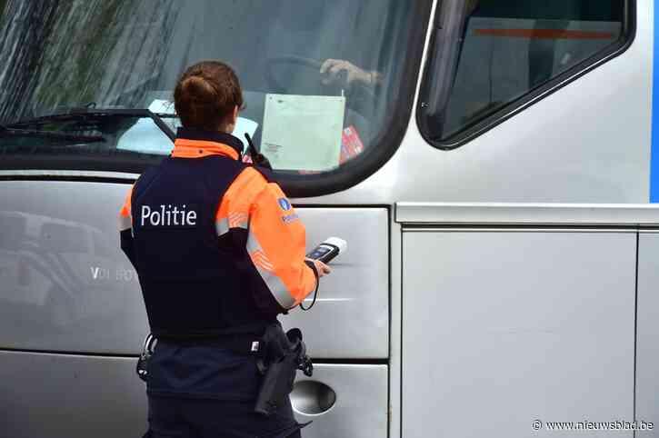 Controleacties brengen enkele overtredingen bij zwaar vervoer aan het licht