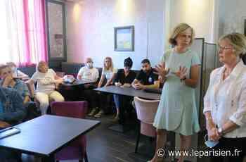 Municipales à Vaires-sur-Marne : Valérie Pécresse soutient les commerçants et la maire sortante - Le Parisien